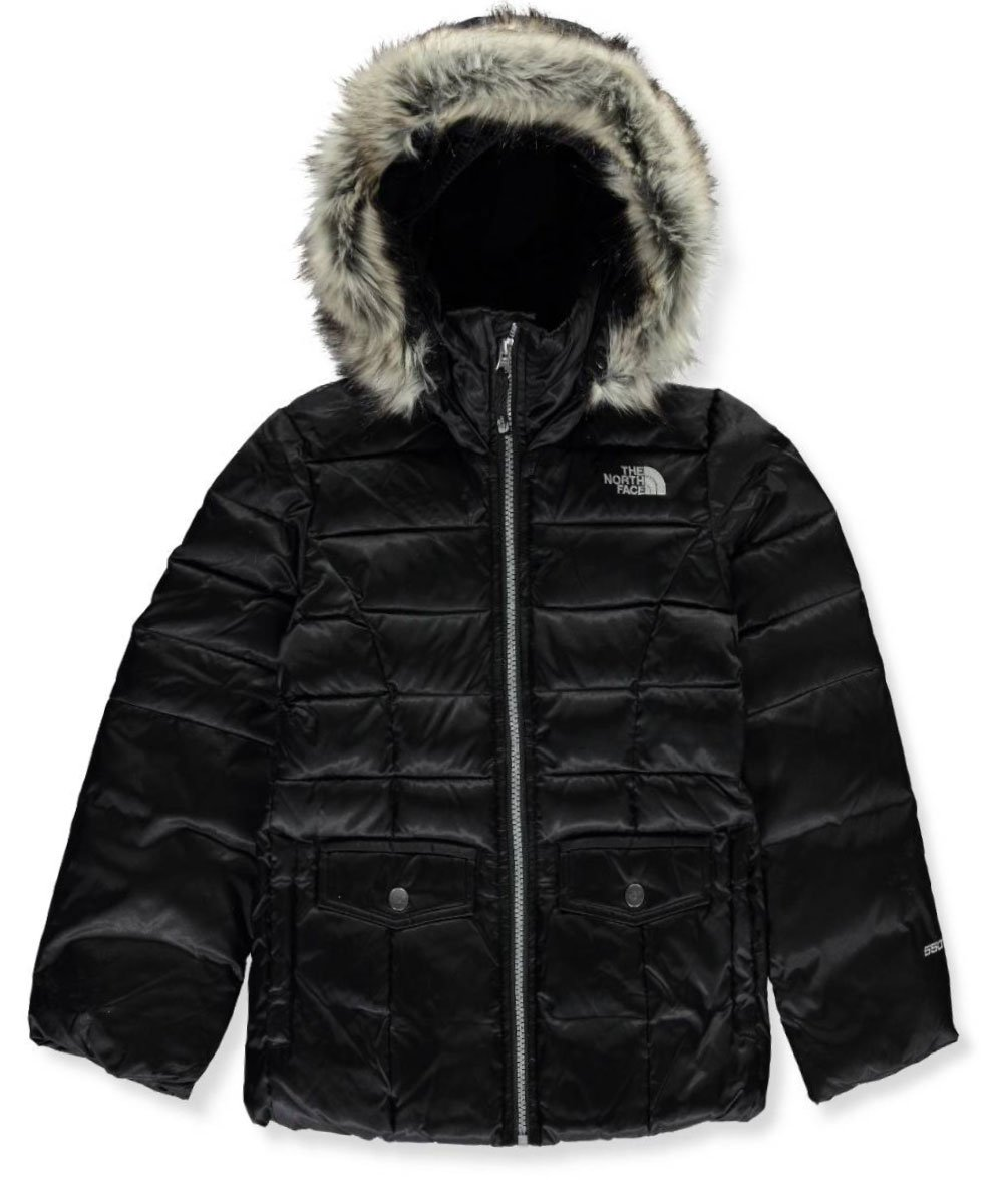 The North Face Little Girls' Gotham 2.0 Down Jacket - tnf black, xxs/5 by The North Face