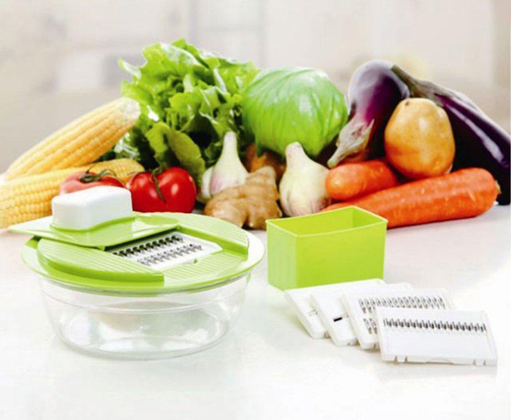 Mhhpek Manual Spiral Cucumber Slicer Novelty Rotary Vegetable Slicer Mini Easy Use Twist Cucumber Slicer