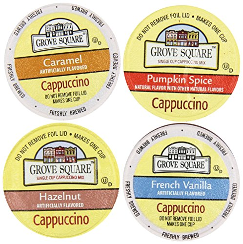 20 count Variety Pack Featuring Cappuccino