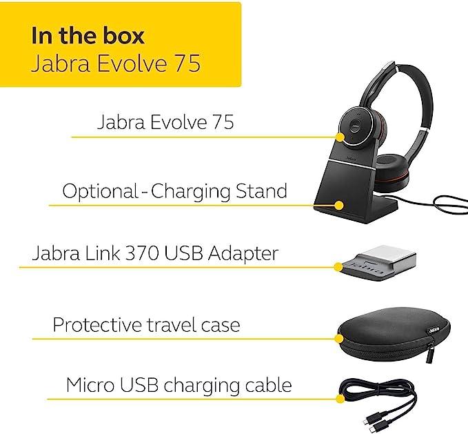 Jabra Evolve 20se Kopfhörer Mit Mikrofon Computer Zubehör