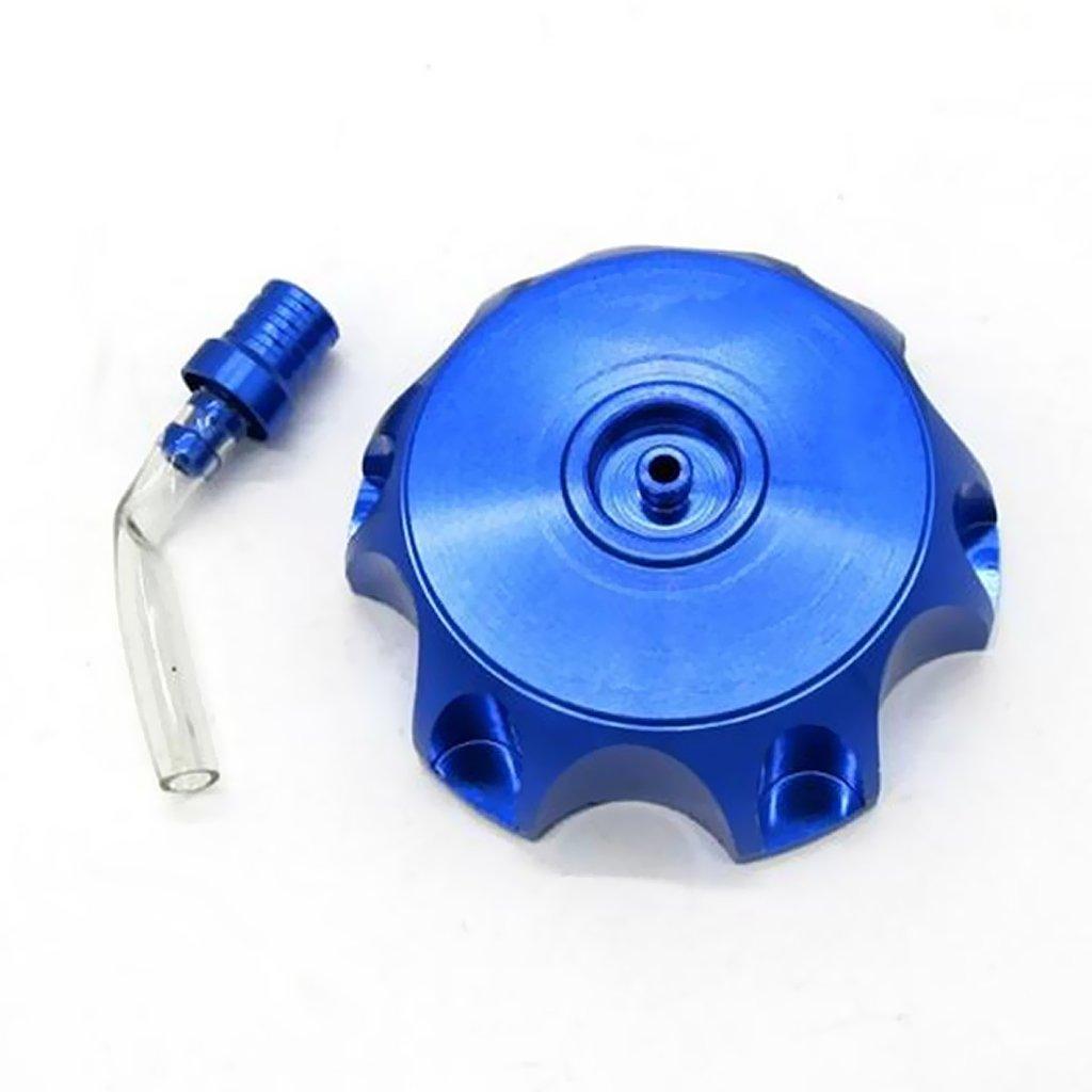 Sharplace 2 x Rot und Blau Abdeckung Tankdeckel mit Entl/üftungsschlauch F/ür 70cc 110cc 125cc 140cc 150cc 160cc ATV Dirt Pit Bike