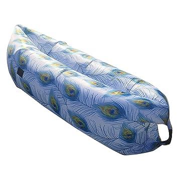 Suyi portátil cama de aire inflable sofá tumbona de saco de dormir colchón sofá Blow Up