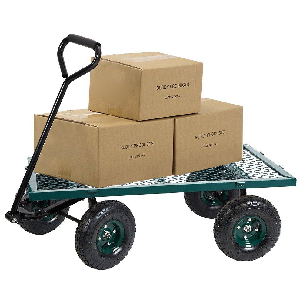 Amazon.com: Dporticus - Carro de cuatro ruedas grande ...