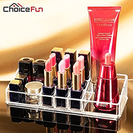 Kids Mandi Makeup Organizer Lipstick Storage Nail Polish Container