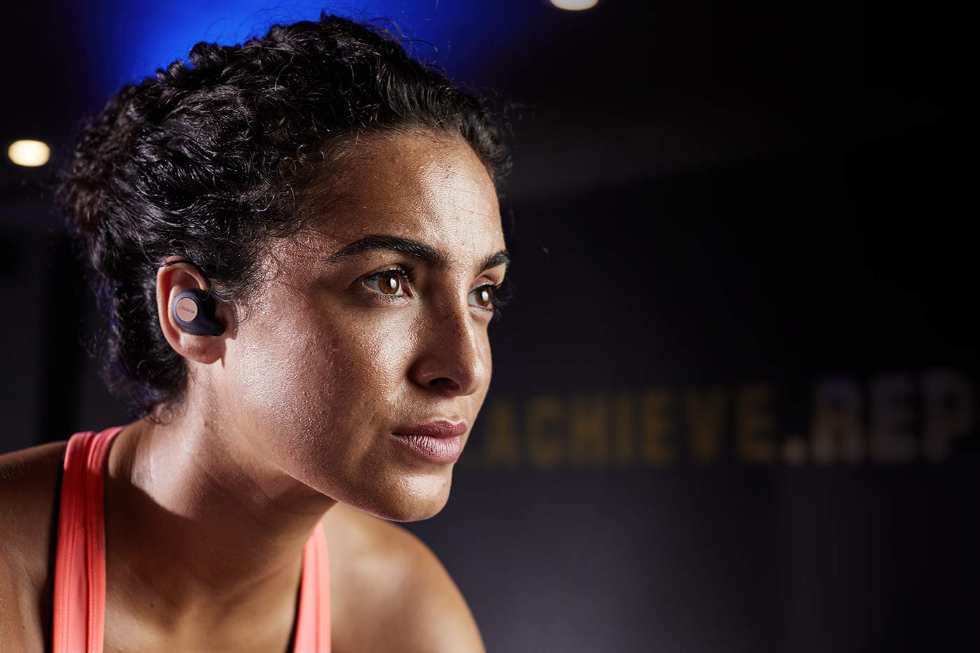 Jabra Elite Active 65t True Wireless Sports Earbuds with Charging Case - Copper Black by Jabra (Image #4)