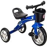 Kiddo Blue 3 Wheeler Smart Design Kids Child Children Trike Tricycle Ride-On Bike 2-5 Years New (Blue)