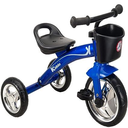 bfda5a5f975 Kiddo Blue 3 Wheeler Smart Design Kids Child Children Trike Tricycle Ride-On  Bike 2