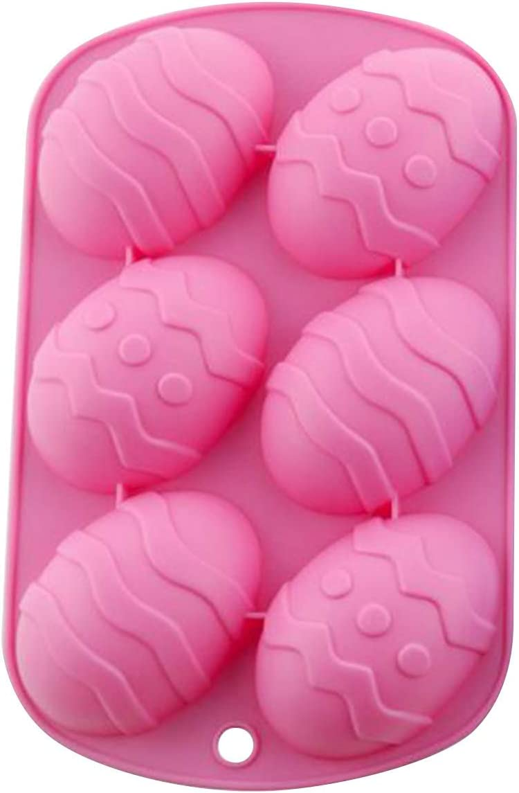 Respctful Easter Cake Mold Egg Shaped Silicone Chocolate Mold Giant Ostrich Egg 3D Dinosaur Egg Chocolate Cake Fondant Mould Baking Sugar Craft Decorating Mold Tool