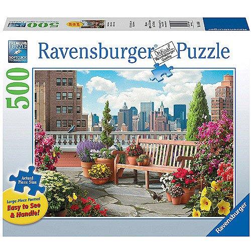 Ravensburger Rooftop Garden Large Format Puzzle,