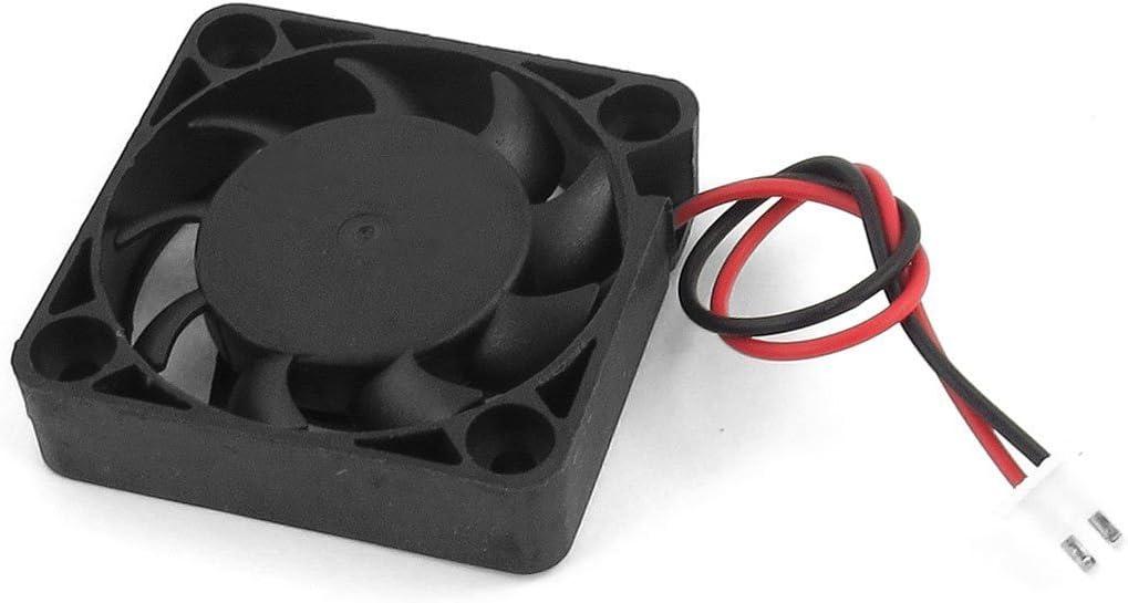 SODIAL(R)DC 12V 0.1A 2 Pines Ventilador de enfriamiento enfriador de CPU caja de PC 40mm x 40mm x 10mm