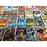 Pokemon TCG : 100 CARD LOT RARE, COMMON, UNC, HOLO & GUARANTEED EX OR FULL ART by Unknown