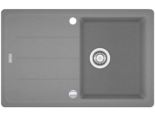 Franke Basis BFG 611 Fragranite Kitchen Sink in Stone-Grey: Amazon ...