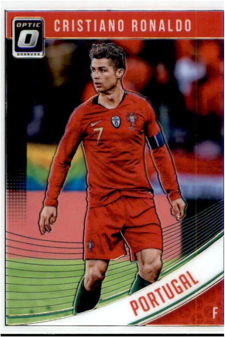 Cristiano Ronaldo Portugal tarjeta base #158 Panini Donruss soccer 2018//19