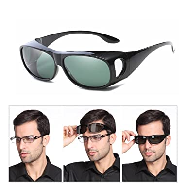 aa8a6c5e80 Wear Over sunglasses for women men Polarised Over Glasses Sunglasses  Polarized Lens