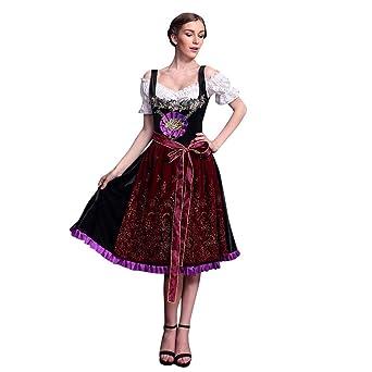 Vestido tradicional para mujer, de Mnriuoci, para Oktoberfest, con ...