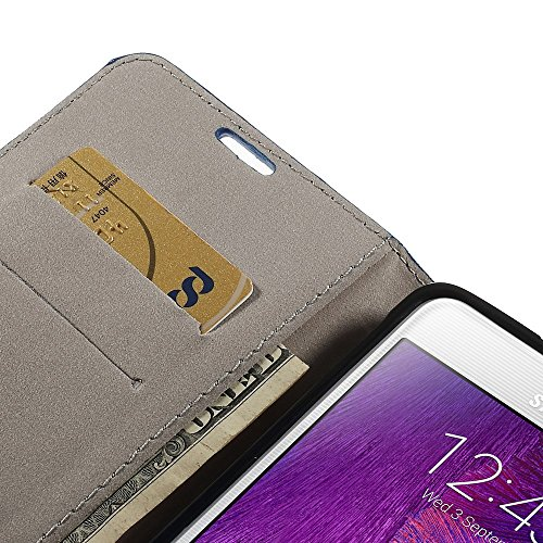 JUJEO Zodiacal Constellation Wallet Leather Case with Stand for Samsung Galaxy Note 4 N910 - Leo - Non-Retail Packaging - Multi