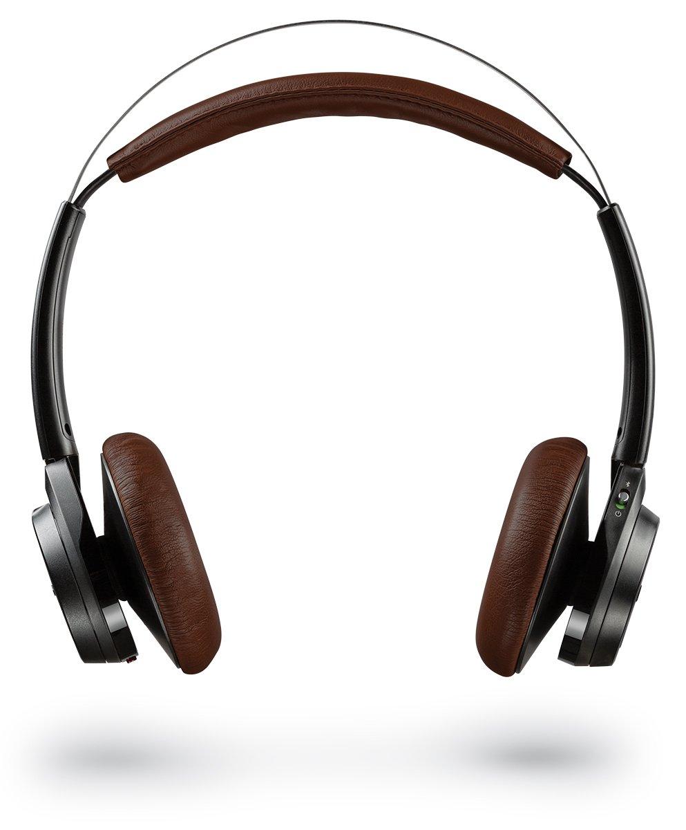 Plantronics Backbeat Sense Wireless Bluetooth Headphones with Mic – Black