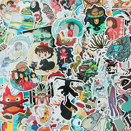 Cartoon Miyazaki Waterproof Stickers Skateboard product image