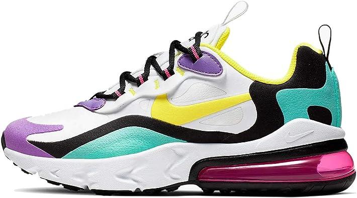 | Nike Boys' Big Kids AIR MAX 270 React Casual