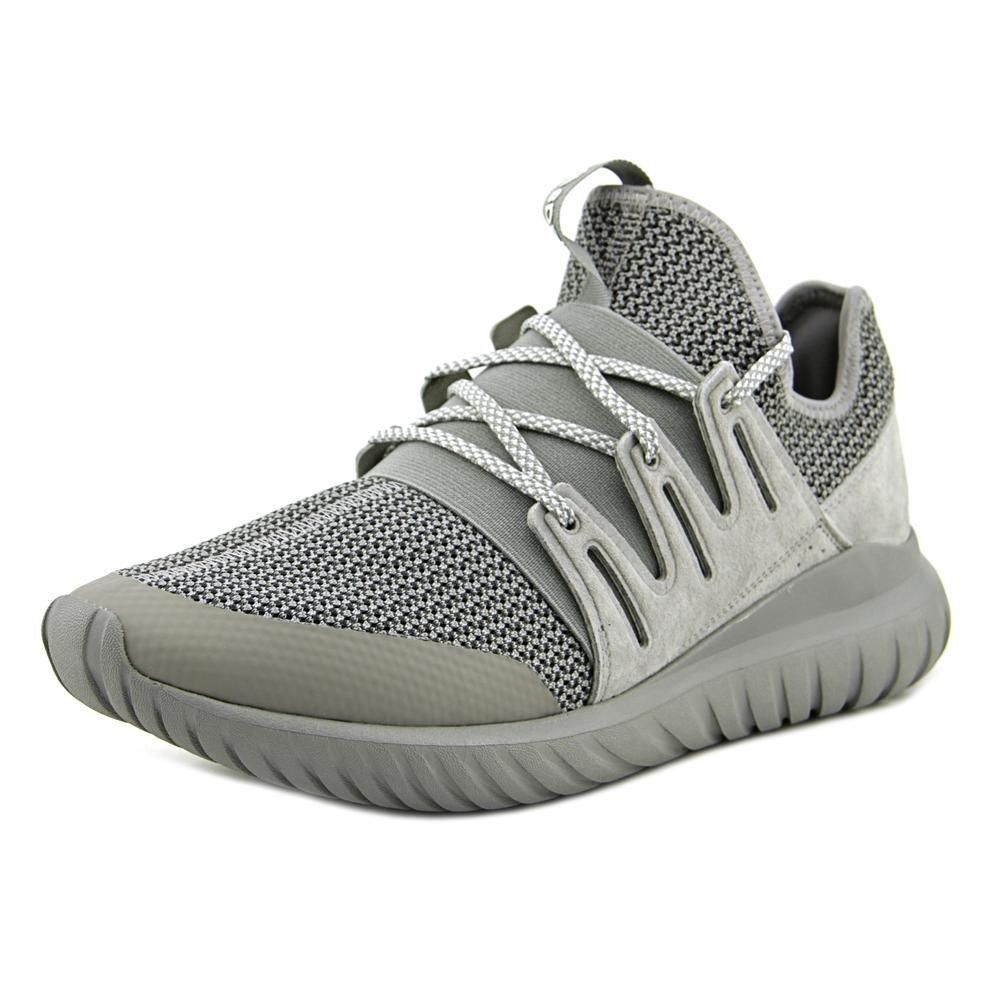 adidas Men's Tubular Radial Charcoal Solid GreyAnkle High Fabric Fashion Sneaker 9.5M