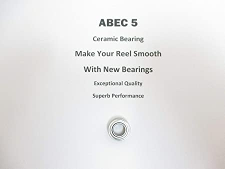 ABEC-7 Hybrid CERAMIC Bearings FOR SHIMANO STRADIC CI4 3000FA COMPLETE SPINNING