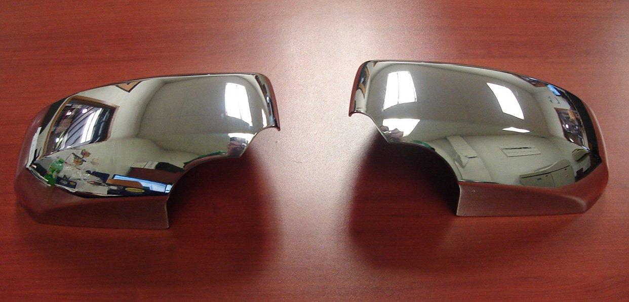 Putco 400117 Chrome Mirror Overlay for Select Nissan Models