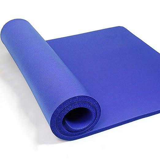 Estera de yoga / antideslizante más gruesa ejercicio Mat ...