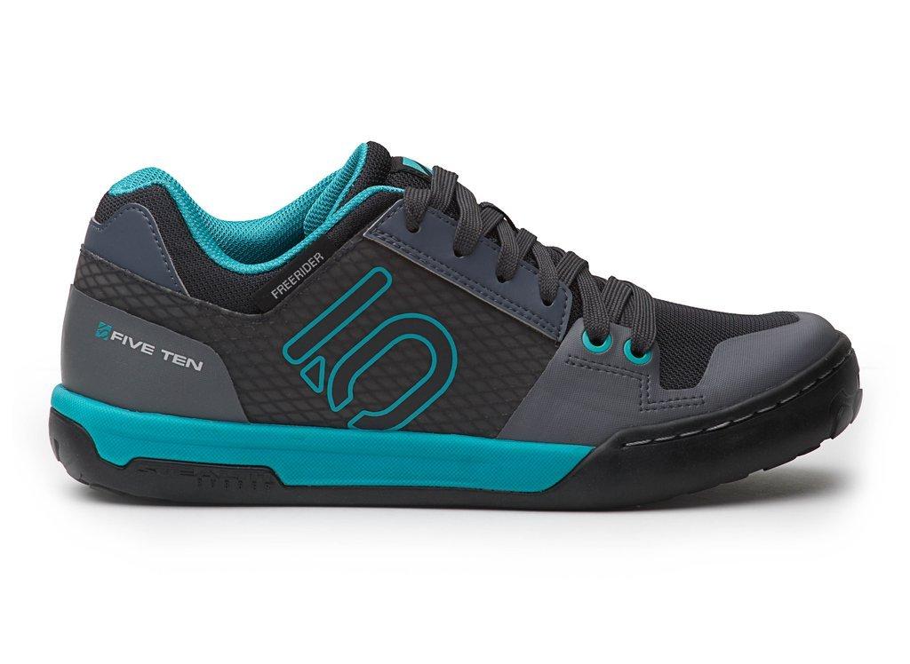 Five Ten Women's Freerider Contact Wms Approach Shoes, Shock Green/Onix, 9.5 B US by Five Ten