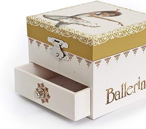 Trousselier, pequeña caja de música con diseño de Ballerina.: Amazon.es: Bebé