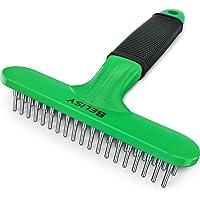 BELISY Pet Brush - Soin du Pelage pour sous-Poil et Poils lâches - Vert