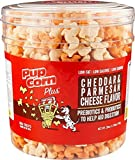 Sunshine Pet Treats 28oz Pupcorn Plus Parmesan & Cheddar Cheese Flavor with Prebiotics & Probiotics