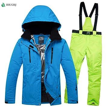 HIJUF Trajes de esquí para Hombres Profesionales Traje de Nieve ...