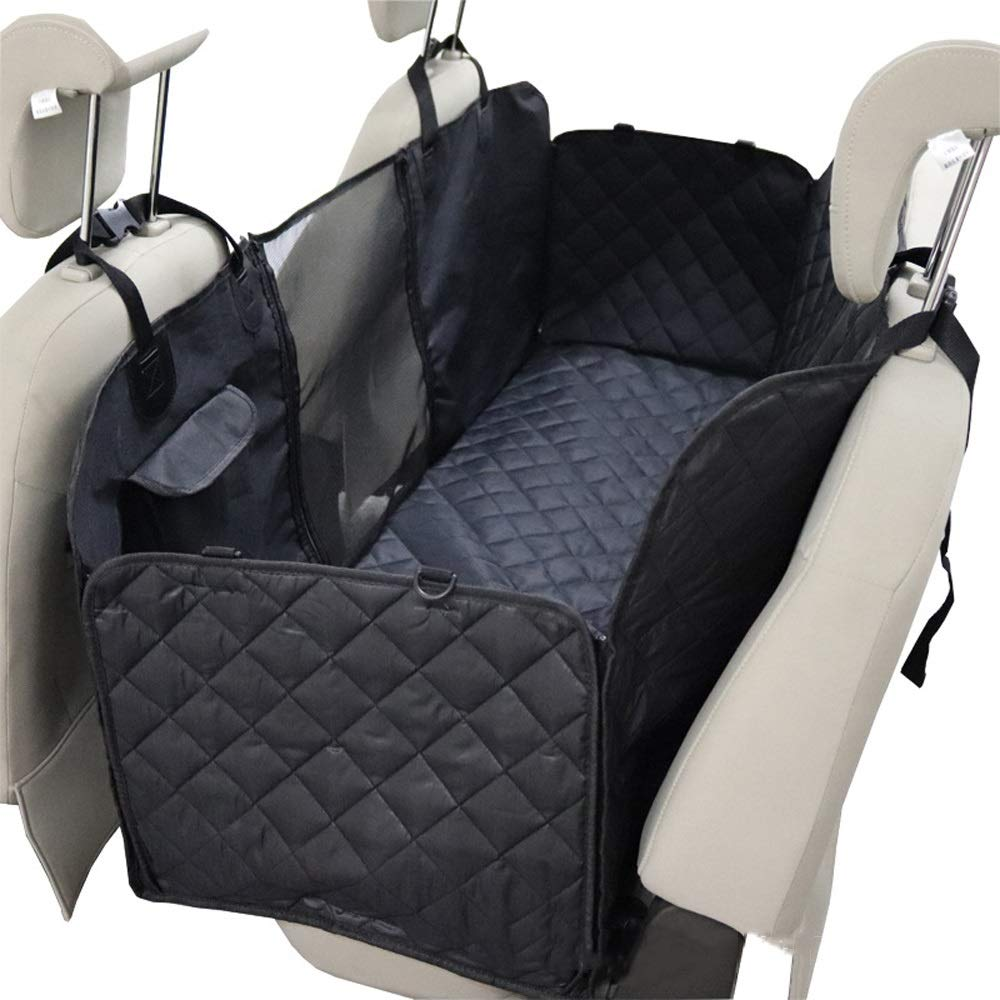 REMIGHTELY BRIGHT Pet Dog Mat Waterproof Oxford Fabric Breathable Grid Can Be Used In Rear Seats for Cars