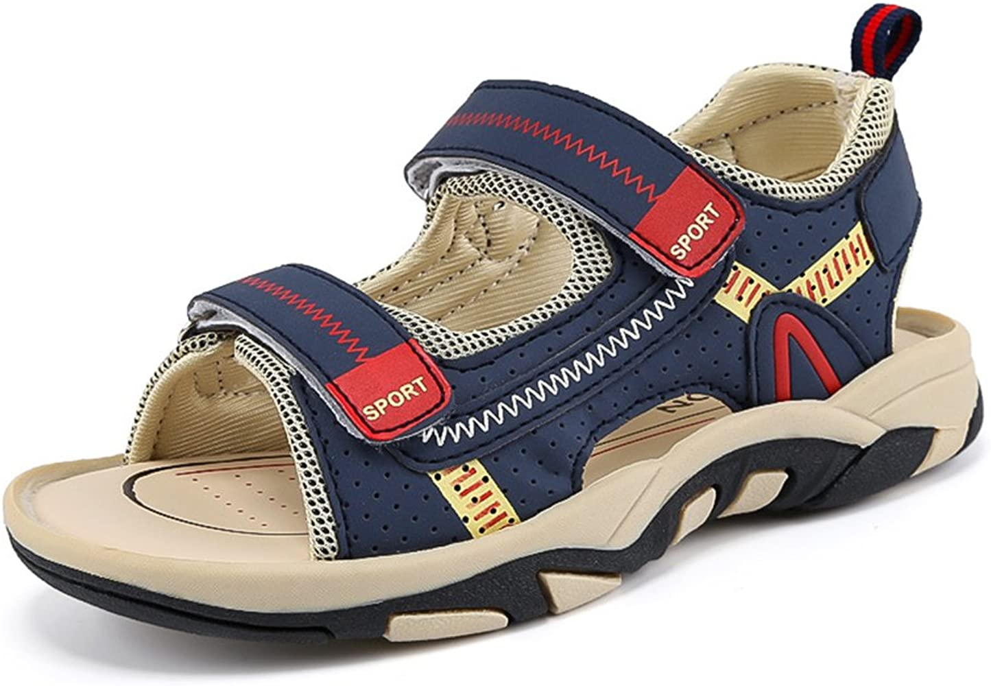Amazon.com | Boys Girls Adjustable Straps Casual Sport Water Sandals Outdoor  Hiking Shoes (1.5 M US Little Kid) | Sandals