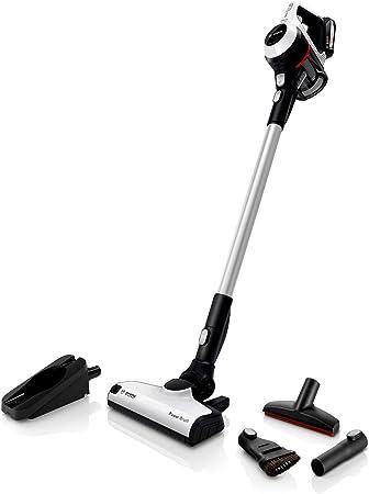 Bosch Unlimited Serie 6 - Aspiradora sin Cables, 2 Pilas Intercambiables, Color Blanco: Amazon.es: Hogar
