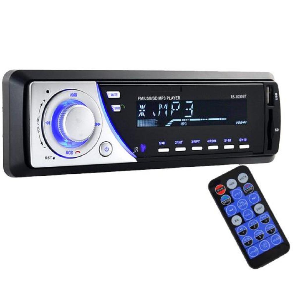 Sannysis - Auto Audio Bluetooth esté reo Unidad Jefe de SD USB MP3 Radio FM