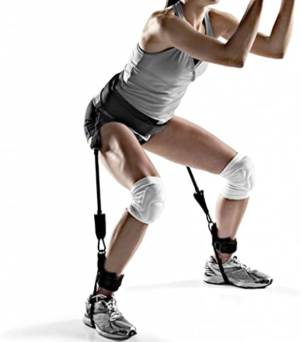 Resistance Bands Vertical Trainers Jump Legs Leaping Fitness Strength Horizontal