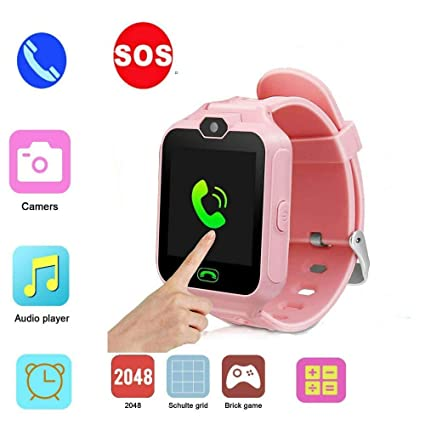 Amazon.com: Hangang Kids Watch Phone, Game Smart Watch for ...