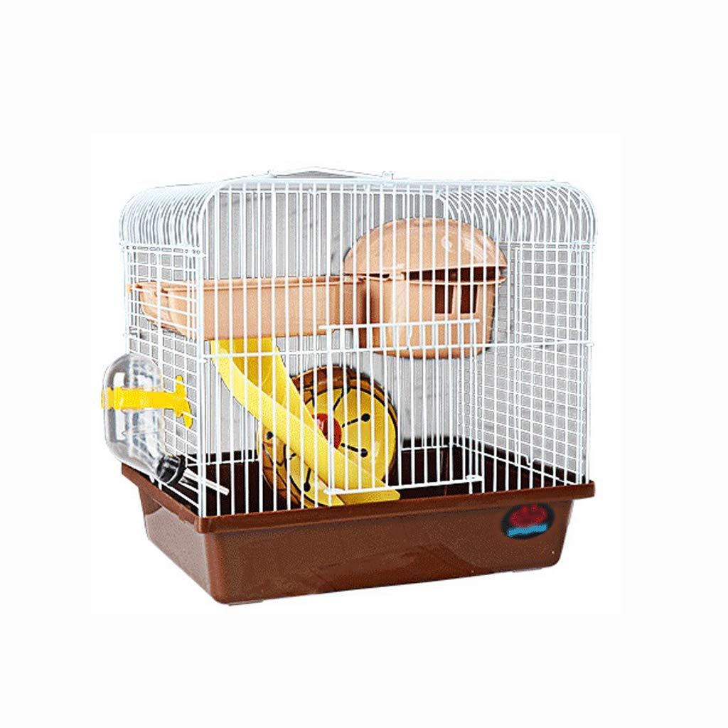 Brown CSWO Hamster Cottage Mushroom Cage Foundation Cage, Pink   27x19x26cm