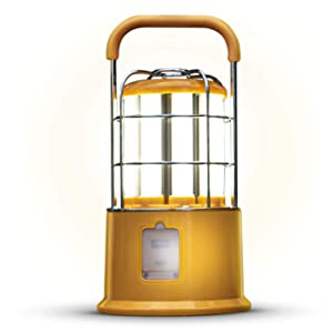 Home Zone Security Portable Work Light - Rechargeable Ultra Bright LED Work and Camping Lantern