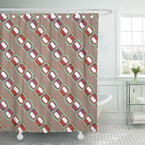 Emvency Shower Curtain Waterproof Accent Jars with Rustic Canning New for Amplify Arabic Asian August Breakfast Polyester Fabric 72 x 78 Inches Set With Hooks -
