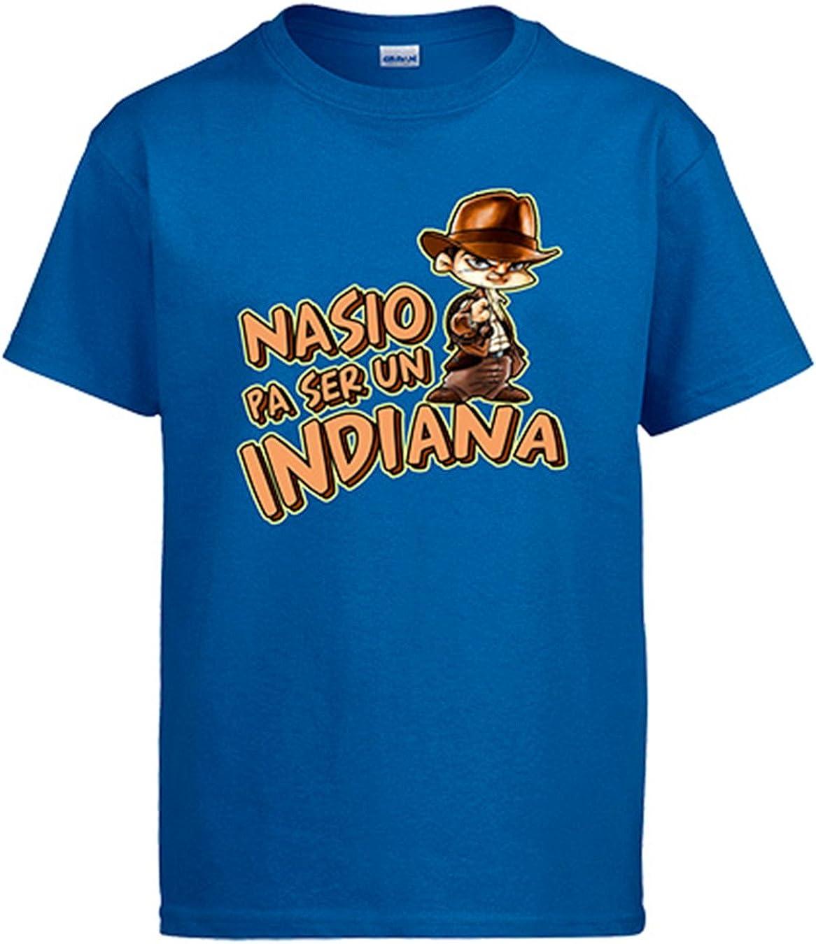 Diver Camisetas Camiseta Indiana Jones Nacido para ser un Indiana: Amazon.es: Ropa y accesorios