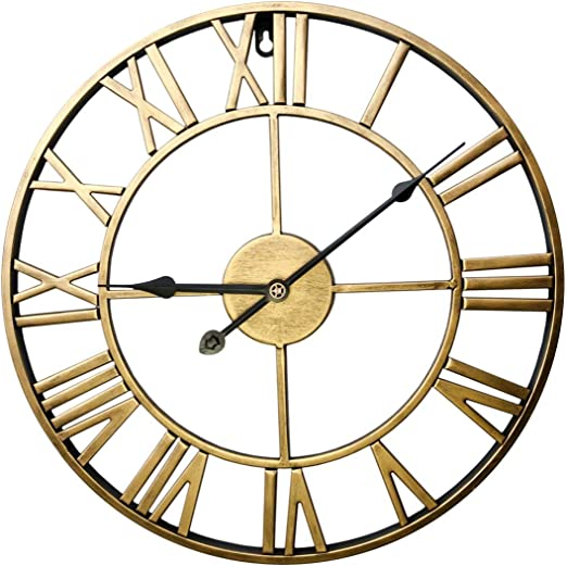 Image result for metal wall clock 24 inch
