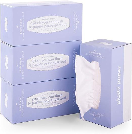 Paños de papel higiénico biodegradables Septic Safe de rápida ...