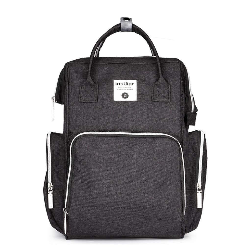 Gogoodgo Women Backpack Purse Waterproof Large Travel Bag Ladies Shoulder Bags Handbag Black
