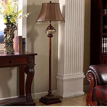 DEED Lámpara de pie Lámpara de pie Retro Americana Creativa ...