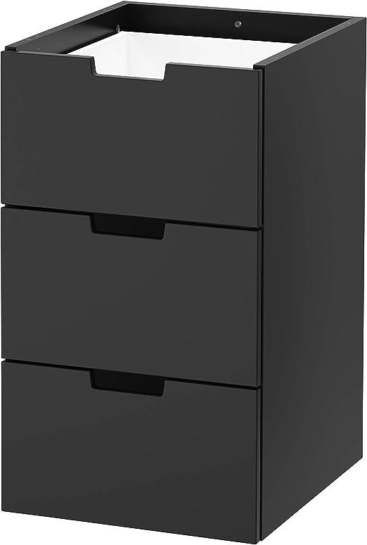 IKEA.. 503.659.31 Nordli - Cajonera Modular con 3 cajones, Color ...