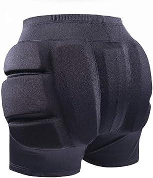 Impact Padded Hip Protective Shorts Skateboard Skates Butt Pad Shield Guard