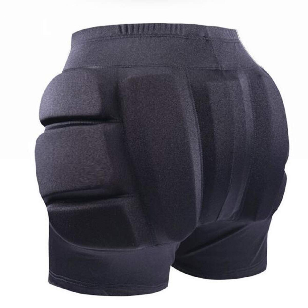 LIUHUO Hip Pad Protector Padded Shorts for Guard Ski Roller Skating Snow Crash Butt Pads for Hips Tailbone Butt