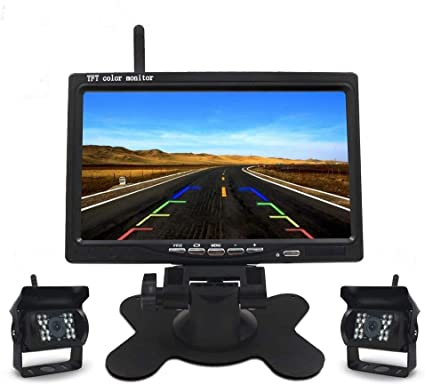 Drahtlose Auto Backup Kamera Und Monitor Kit 7 Zoll Hd Elektronik